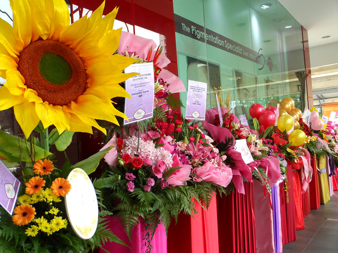 Best Outlet to Buy Congratulatory Flowers in Singapore