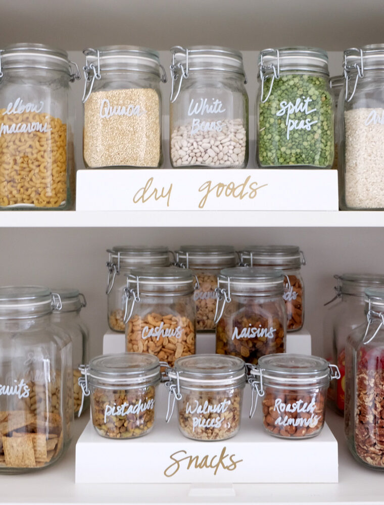 The benefits of having an organized pantry